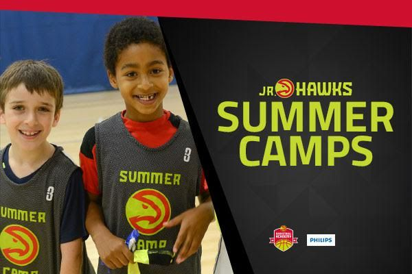 The Atlanta Hawks are offering Jr. Hawks basketball camps this summer! Check out what's offered for ages 8-14!