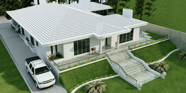 Casa 3 rea do projeto espa o ocupado pelo for Casas mucho lote 2 modelo villas