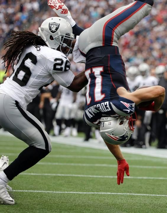 Julian Edelman- I would sacrifice my body so he could land on me..cause I love my country..I'm a Patriot!!