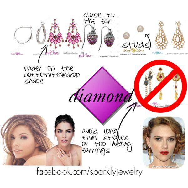 Earrings for Diamond Shape Face Shape