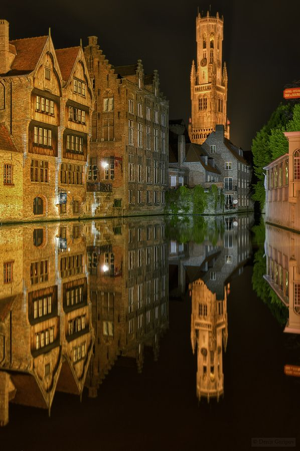 Canal reflections, Bruges, Belgium... I want to visit here in October