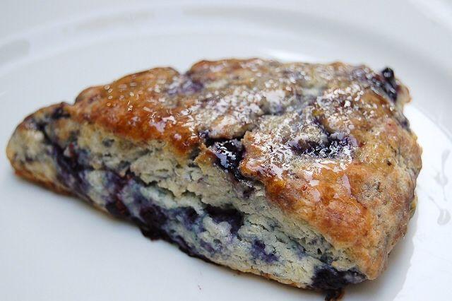 Blueberry Scones with Lemon Glaze | Yummmm-O! | Pinterest