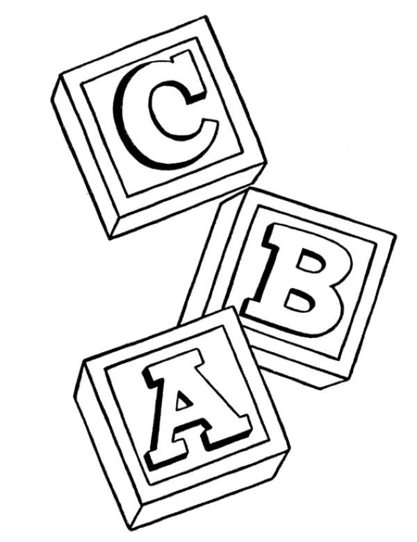 Block Coloring Pages Printable Free Coloring Sheets Abc Coloring Pages Alphabet Coloring Pages Kids Learning Alphabet