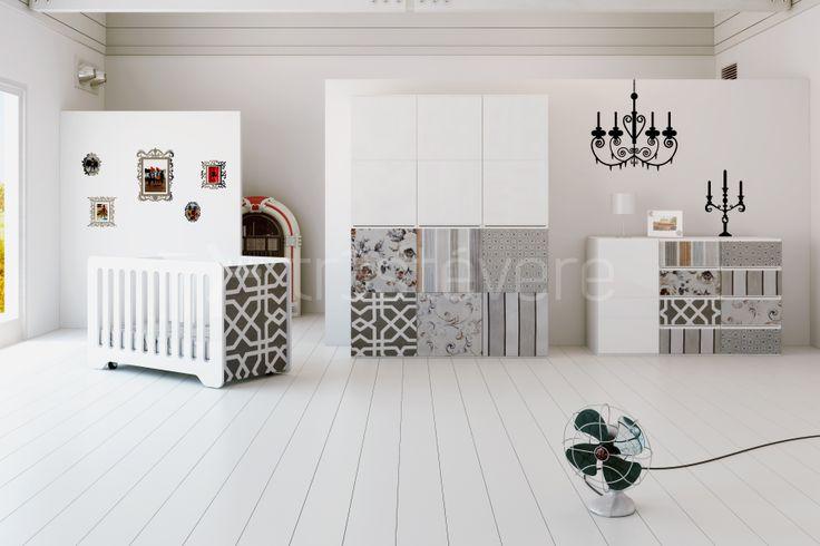 Mueble infantil vintage dise o mobiliario - Alondra mobiliario infantil ...