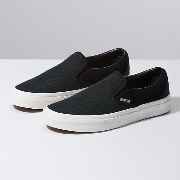 Woven Check Slip-On | Casual shoes