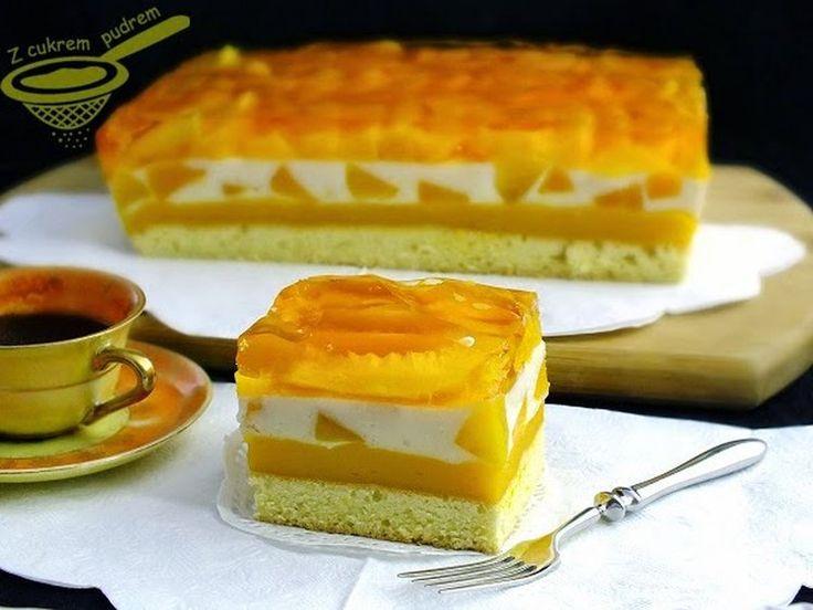 "ciasto ""Brzoskwiniowa fantazja"""
