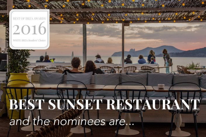 Best of Ibiza Awards: 2016 nominees – Best sunset restaurant