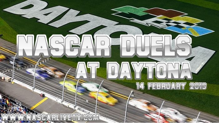 NASCAR #Duels at #Daytona Live on 14 Feb 2019 on @NASCARLIVETV