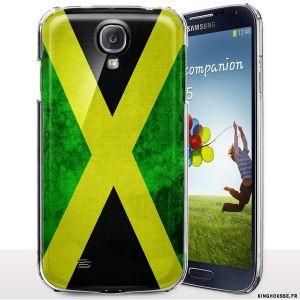 Coque Samsung S4 Mini i9190 Drapeau JAMAIQUE. #Coque #s4 #mini #drapeau #jamaique #jamaïca #housse