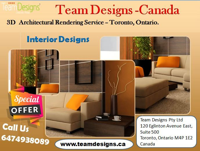 Team Designs Company 3d Architectural Rendering Service Provider