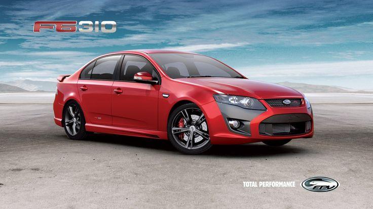 Cars FPV sports cars Aussie Muscle Car Ford Australia F6 310