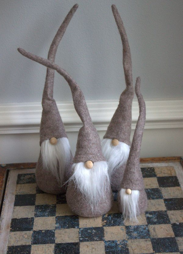 Swedish gnomes to protect your homes.  :)    http://splendidwillow.com/wp-content/uploads/2012/12/Gnomes-600.jpg