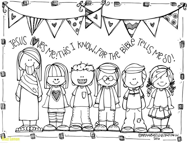 Jesus Loves You Coloring Page Preschool coloring pages