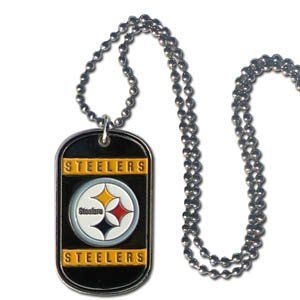 Steelers Tag Necklace Pendant Sports Jewelry S.G.. $15.99. Steelers Tag Necklace Pendant Sports Jewelry