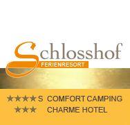 Schlosshof Camping & Hotel Lana Logo