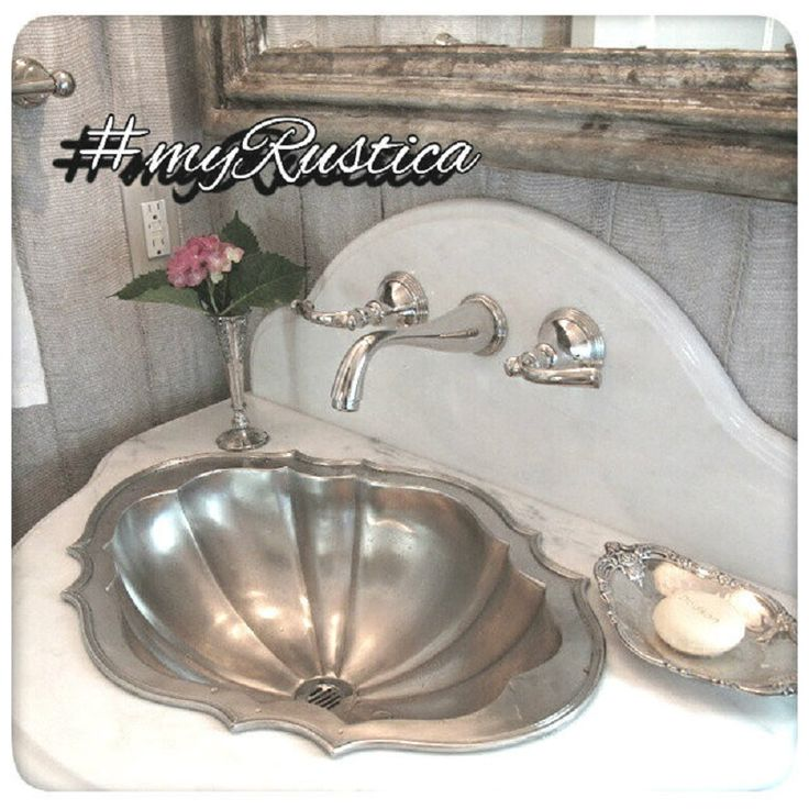 Hammered Undermount Bathroom Sink 9 best pewter bath sinks images on pinterest | pewter, rustic