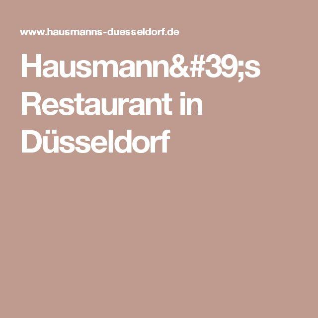 Hausmann's Restaurant in Düsseldorf