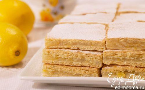 Лимонный пирог и универсальное тонкое тесто   Кулинарные рецепты от «Едим дома!»