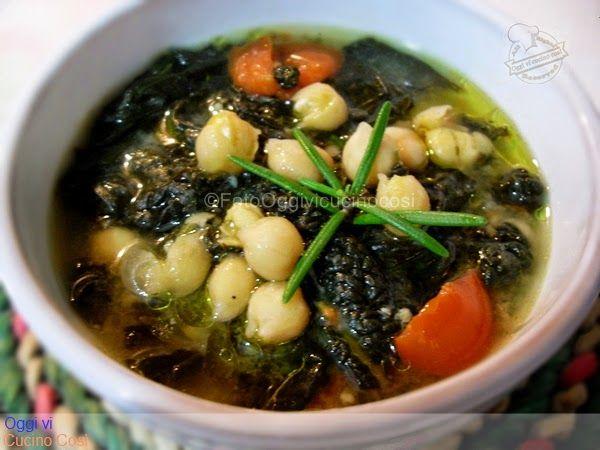 ©Oggi vi cucino così!: Zuppa di Ceci e Cavolo Nero