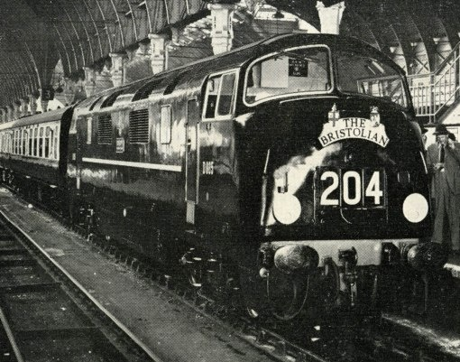 1959 bristolian fast service at Paddington. Courtesy of the Phil Marsh collection: http:/www.rail.co.uk  Rail, Vintage Rail, Vintage Trains, Train, Rail
