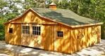 Prefabricated Horse Barns | Modular Horse Stalls | Horizon Structures