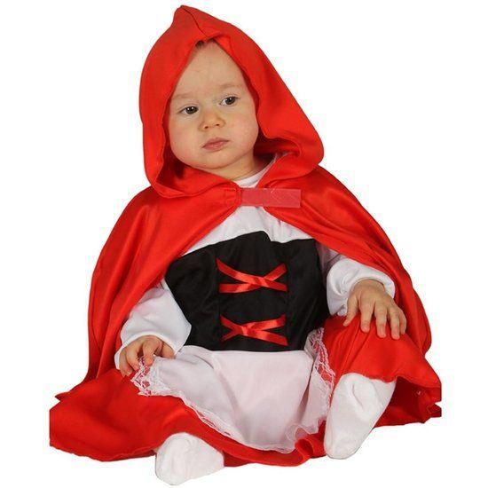 Roodkapje kostuum baby's #roodkapje #roodkapjekostuum #baby