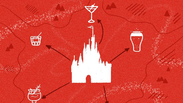 The closest alcoholic drink to every ride at Walt Disney World | At least, every really good ride