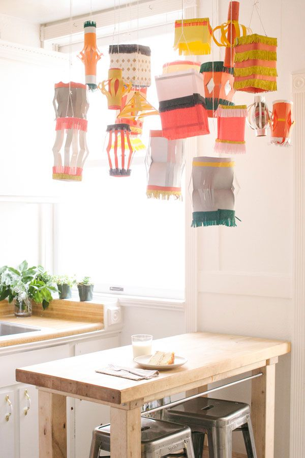 Paper Lantern DIY | Oh Happy Day!
