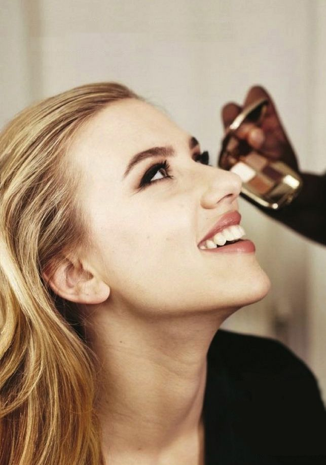 pretty makeup on a pretty girl