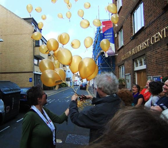 Over the weekend of 18th and 19th October 2014, Triratna's Brighton Buddhist Centre celebrated its 40th anniversary.