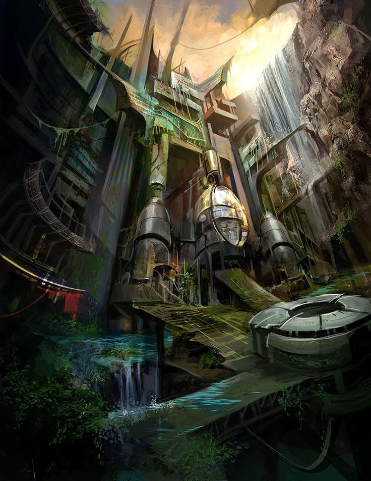 Ruin City Concept by Derrick Song btip