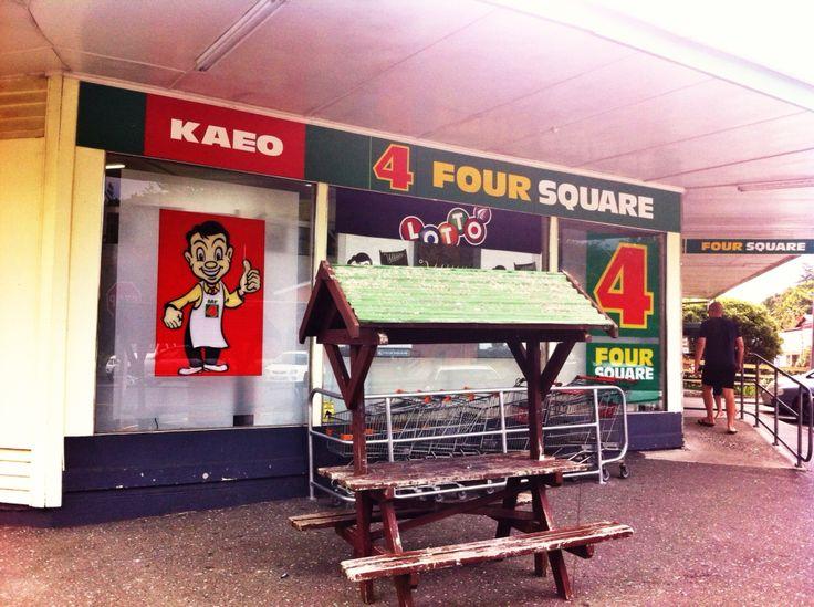 Kiwiana Northland New Zealand. Four Square