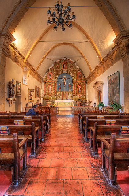 Carmel Mission, Carmel, Monterey, California by Axe.Man