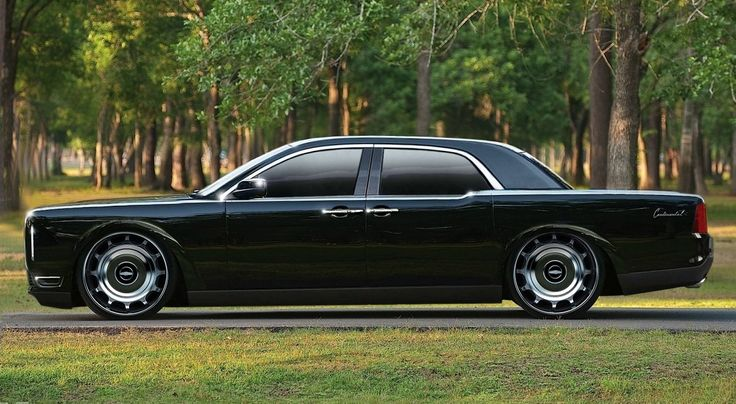 Retro futuristic Lincoln Continental