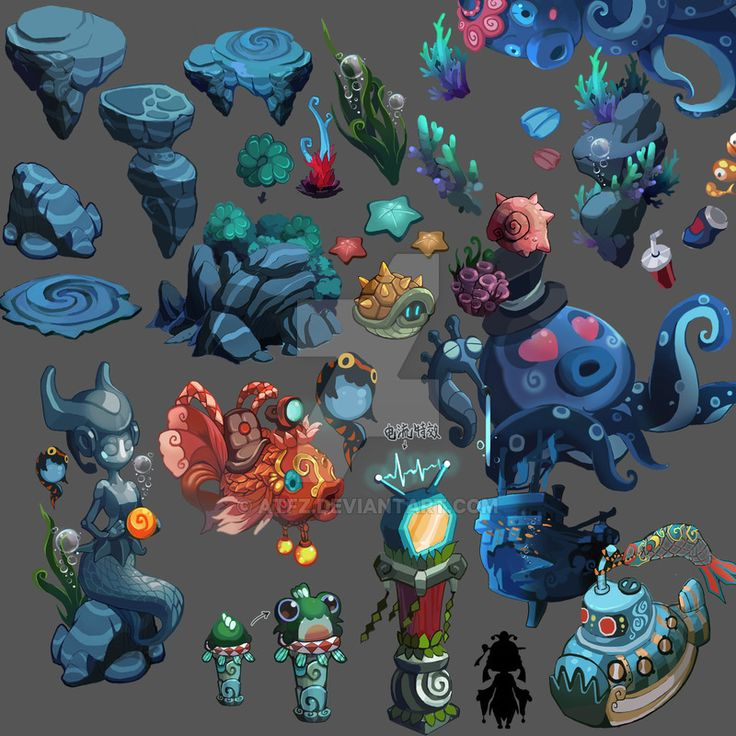 The seabed material by ATFZ on DeviantArt