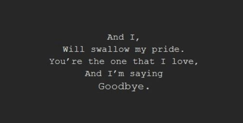 Swallowing Your Pride Quotes: Swallow My Pride Quotes. QuotesGram