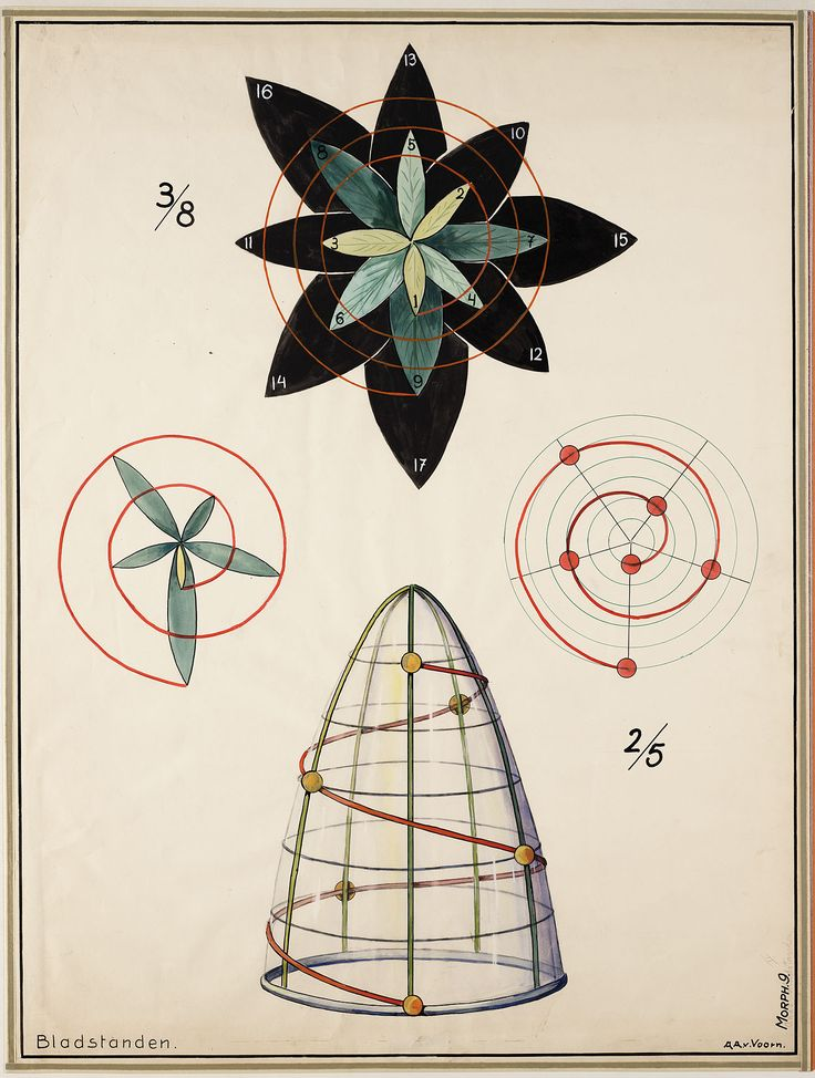 Bladstanden / Sacred Geometry