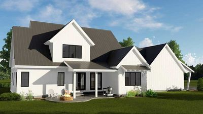 Modern Farmhouse Plan With 2-Car Side Load Garage - 62722DJ thumb - 02