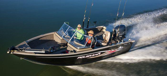 New 2013 Polar Kraft Boats Frontier 179 WT Multi-Species Fishing Boat