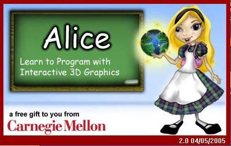 Alice, a computer programming software. Free Computer Programming Curriculum for High School Students http://www.alice.org/