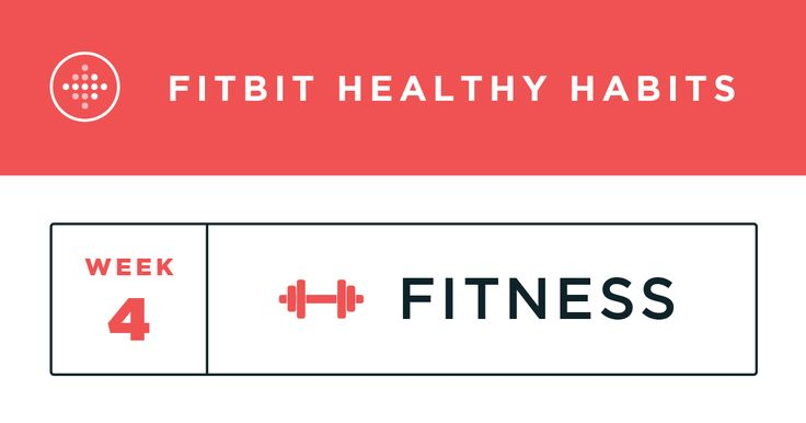 Fitbit Healthy Habits: Week 4