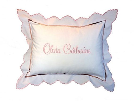 Personalized Baby Pillow Unique Baby Gift by thebabypillowstore $39.99
