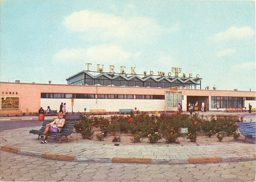 Building of Bus Main Station in Turek.