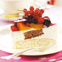 weight watchers - Yoghurtcake met fruit - 4pt