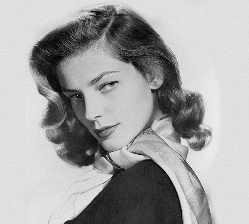 """""""Imagination is the highest kite one can fly."""" RIP style icon and legendary actress, Lauren Bacall."""