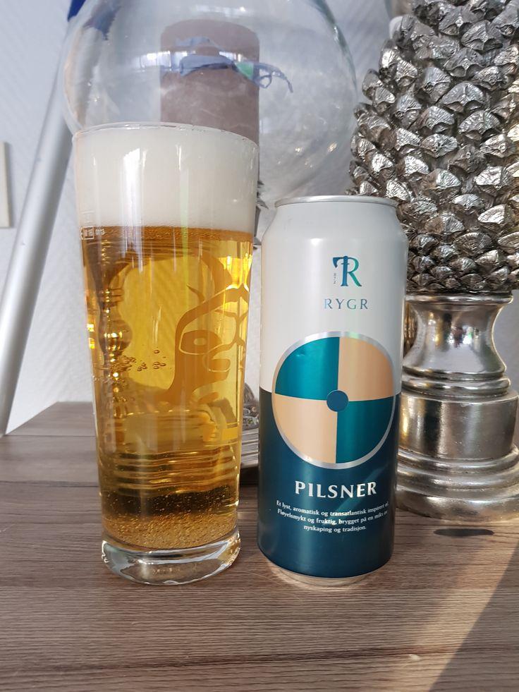 RYGR Pilsner by RYGR Brygghús