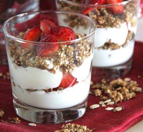 Quinoa con yogur, un postre sabroso, ligero y sano ¡aprende a hacerlo!   #QuinoaConYogur #YogurConQuinoa  #PostresSinHorno #PostresLigeros #PostresLight #PostresFáciles #PostresRápidos #PostresConQuinoa