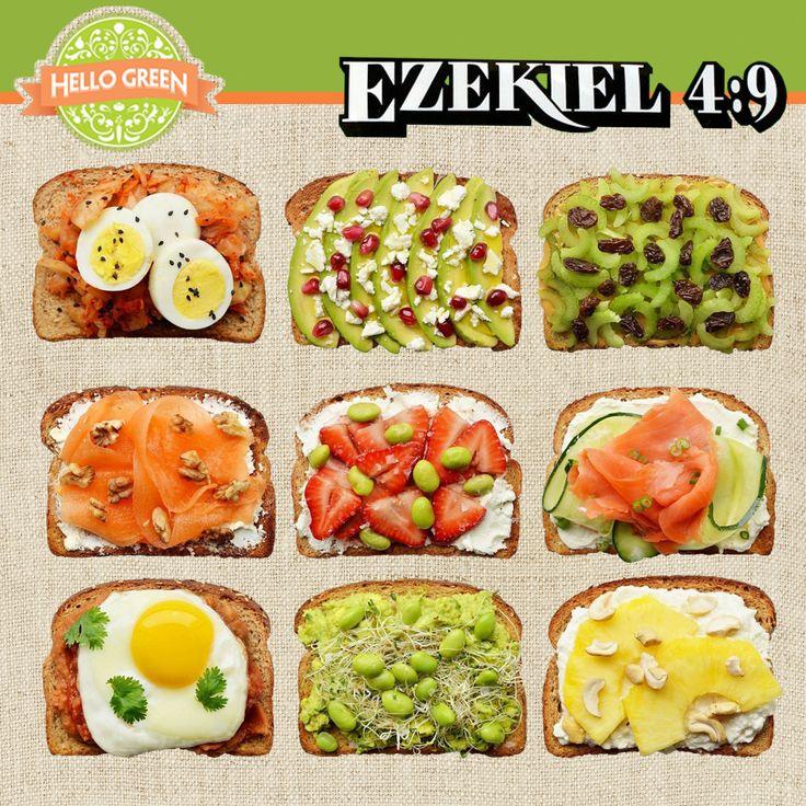 Utiliza tu Pan Ezekiel para prepararte 5 desayunos saludables, ¡inténtalo!