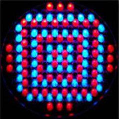 Efeito de iluminação: Canhão PAR64 139 LEDs 10mm RGB DMX Áudio-Rítmico
