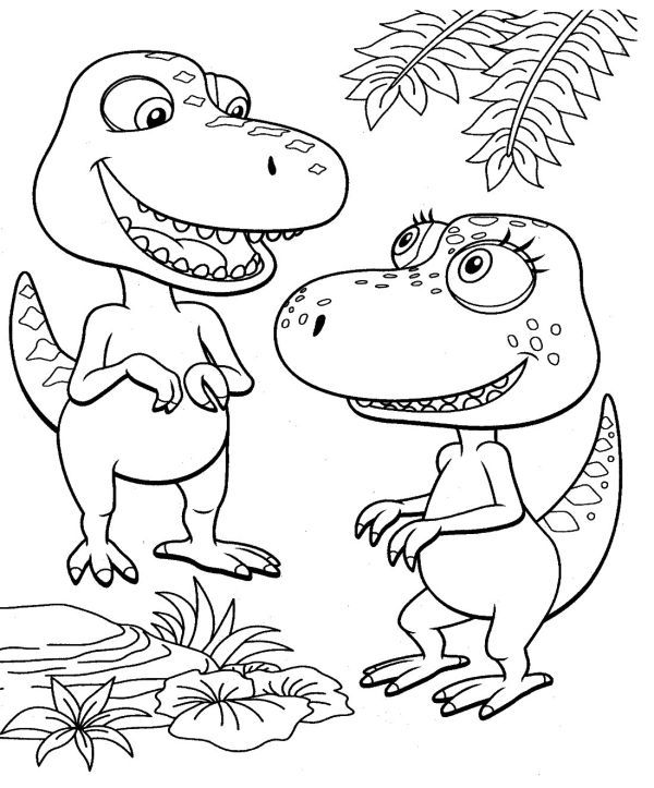 Free Dinosaur Train Coloring Pages Printable In 2020 Dinosaur Coloring Pages Train Coloring Pages Dinosaur Coloring